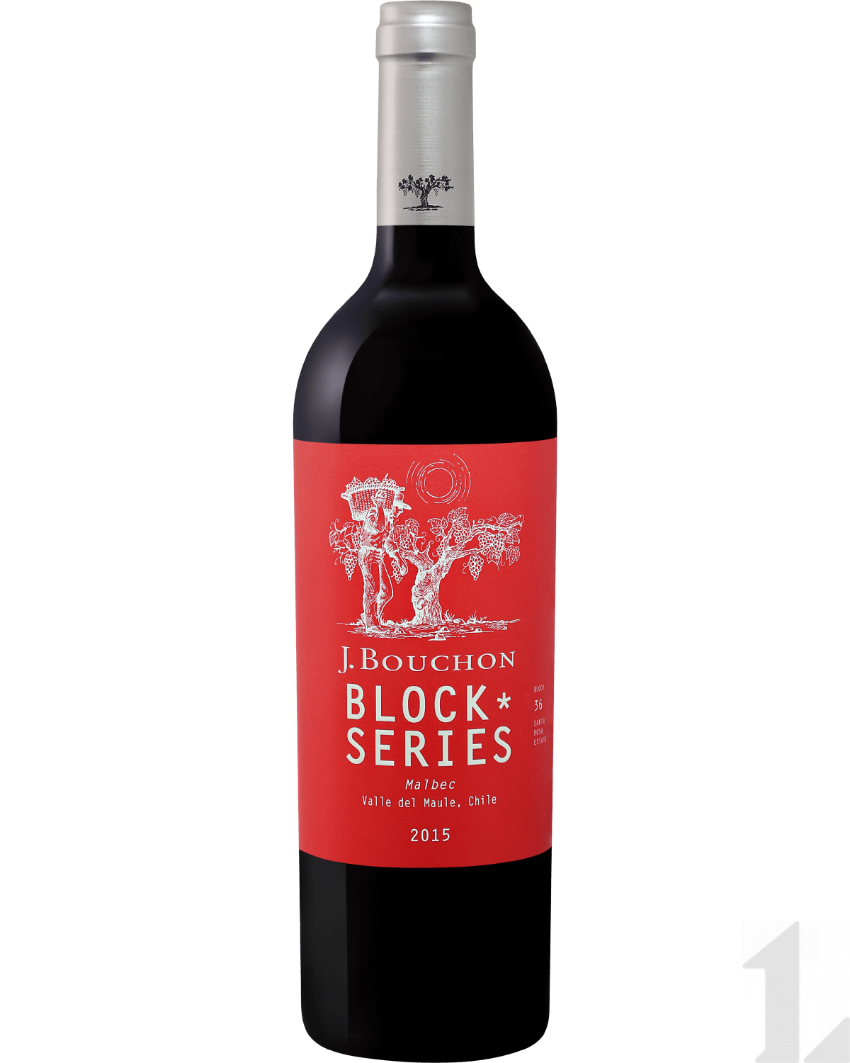 Вино Block Series Malbec Maule DO J. Bouchon 2011 0.75л