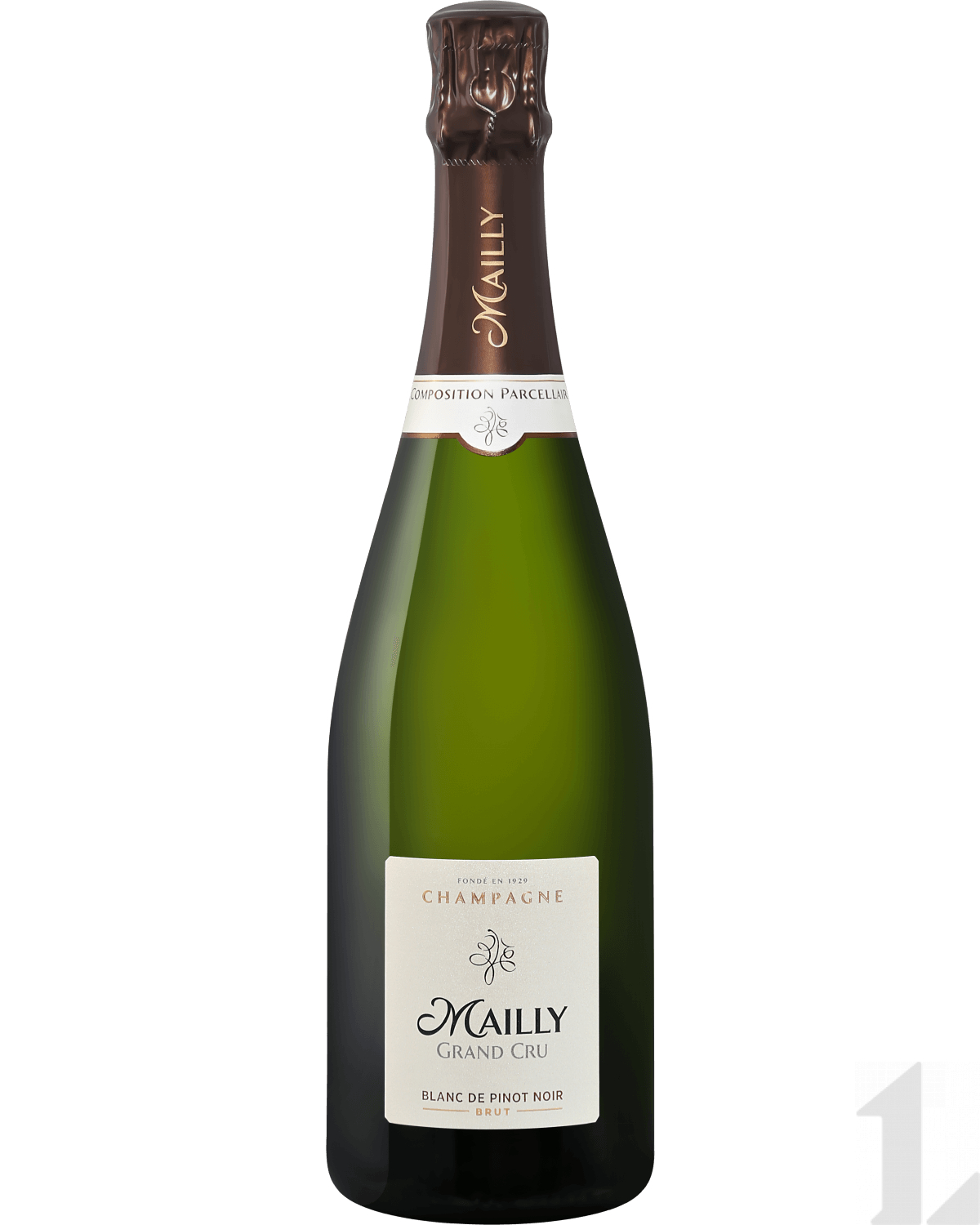 Игристое вино Mailly Grand Cru Brut Blanc de Pinot Noir Champagne АОС 0.75л