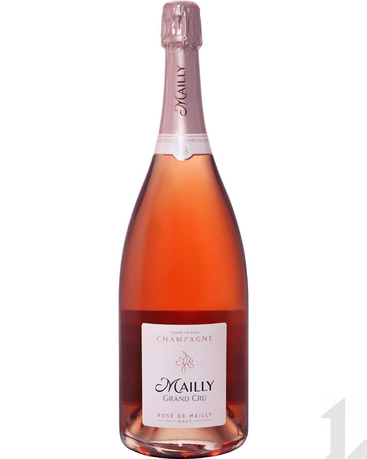 Игристое вино Mailly Grand Cru Rose de Mailly Brut Champagne AOC 1.5л