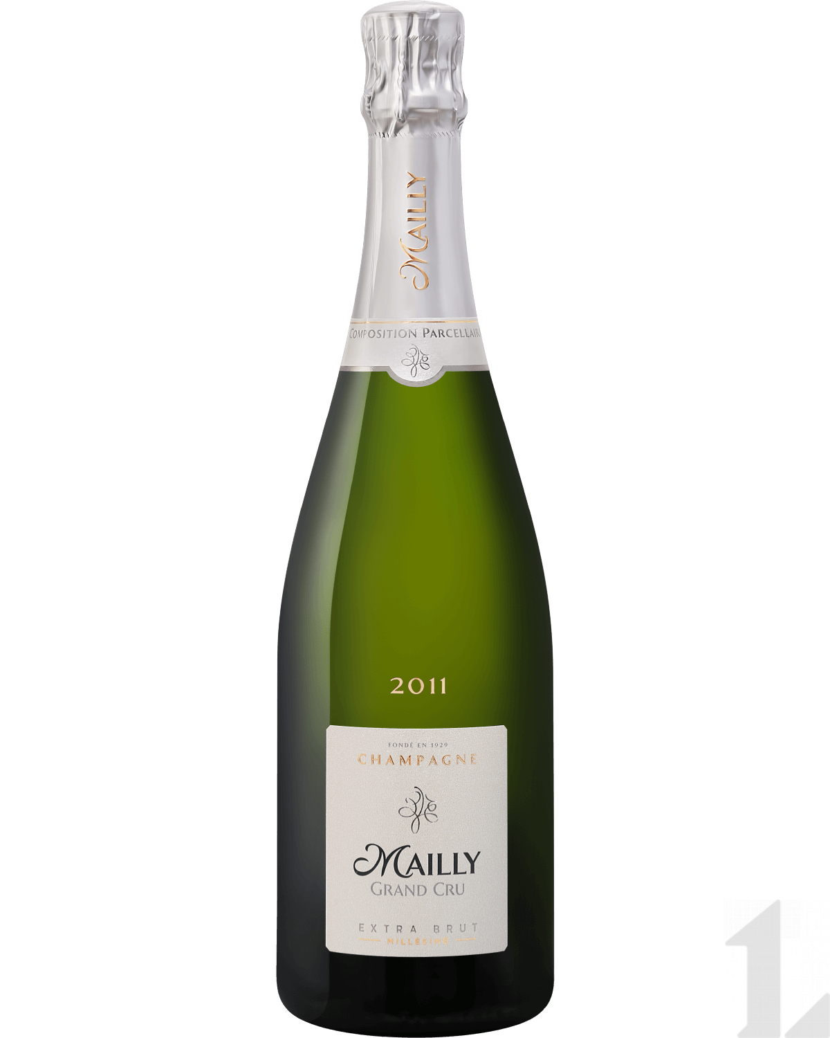 Игристое вино Mailly Grand Cru Extra Brut Millesime Champagne АОС 2012 0.75л