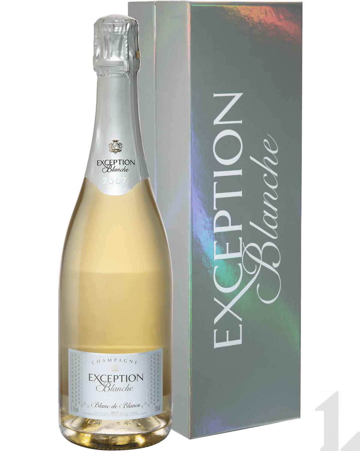 Игристое вино Mailly Grand Cru Exception Blanche Blanc De Blancs Millesime Champagne AOC (gift box) 2009 0.75л